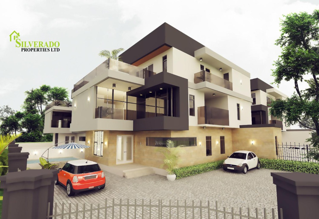 4 units of fully detached 5bedroom duplexes, all rooms en-suite with a 2 room BQ.
